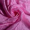 Портьерная ткань жатка розовая