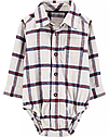 Нарядный костюм для мальчика Carter's (США) штаны на подтяжки + рубашка-боди 12 мес/72-78 см, фото 3
