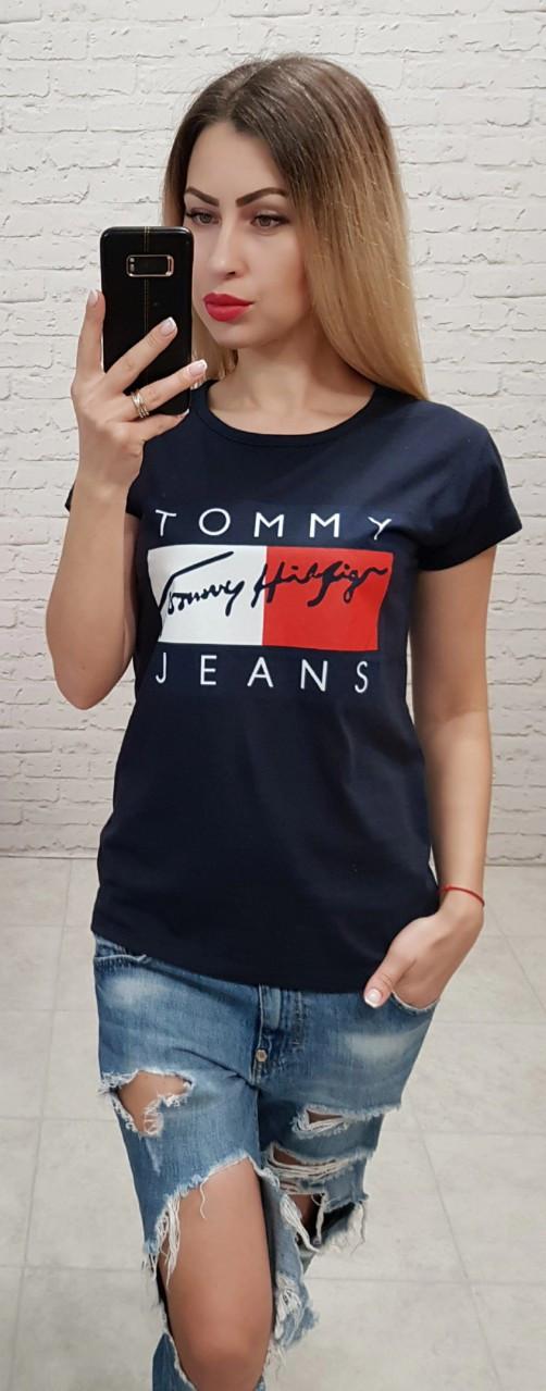 Женская футболка Tommy Jeans Турция р. S,M,L оптом