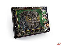 Набор креативного творчества алмазная живопись dankotoys dm-02-01 diamond mosaic Сова