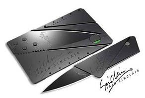 Складной нож-кредитка CardSharp