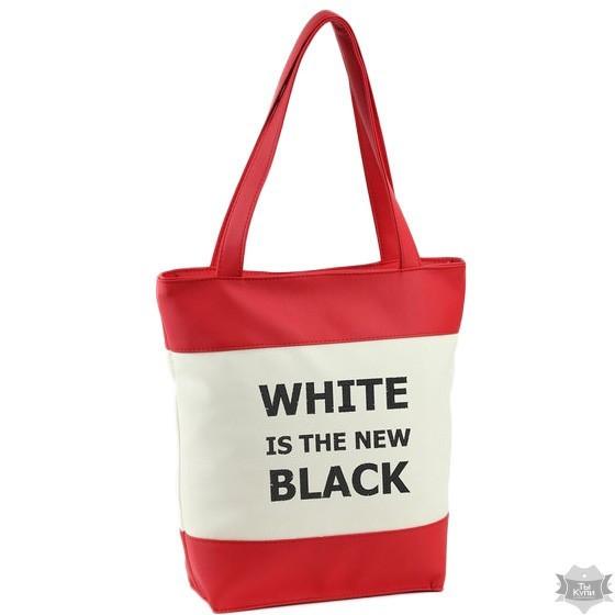 a095f26dc2a9 Сумка Летняя Комби «Белый это Новый Черный» 2 Варианта — в Категории ...