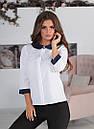 Блузка с круглым воротником, фото 2
