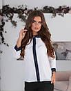 Блузка с круглым воротником, фото 4