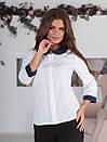 Блузка с круглым воротником, фото 6