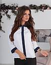 Блузка с круглым воротником, фото 8