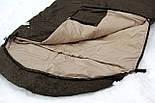 Тактический спальный мешок (до -5) спальник для похода весна и осень, фото 2