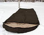 Тактический спальный мешок (до -5) спальник для похода весна и осень, фото 4