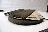 Тактический спальный мешок (до -5) спальник для похода весна и осень, фото 6