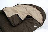 Тактический спальный мешок (до -5) спальник для похода весна и осень, фото 9