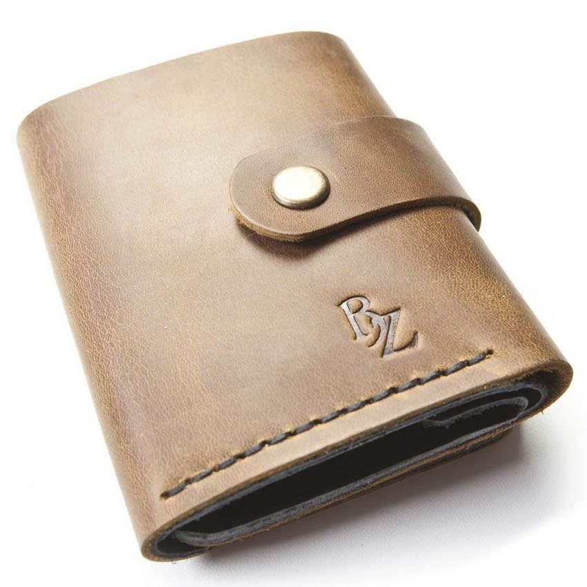 34f72d2052ac Женское портмоне ручной работы из кожи BOGZ Roll CH Olive - Arion-store -  кожгалантерея