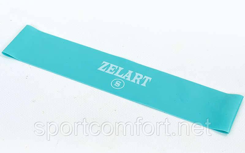 Лента для фитнеса кольцевая Zelart (S) 0.35 мм