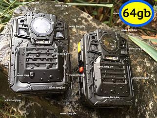 Полицейская камера Protect R-02A- 64Gb СЕРТИФИКАТ
