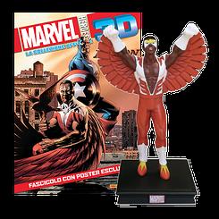 Миниатюрная фигура Герои Marvel 3D №25 Сокол (Centauria) масштаб 1:16