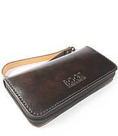 Мужской бизнес-клатч ручной работы из кожи BOGZ Multivision P13M3M6S2