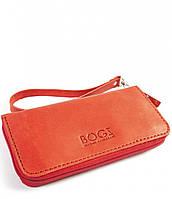 Мужской бизнес-клатч ручной работы из кожи BOGZ Multivision CH Red P13M39S1