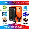 Супер современный ПК ZEVS PC 13700U i7 8700 +GTX 1070TI 8GB +16GB DDR4 + Игровая клавиатура