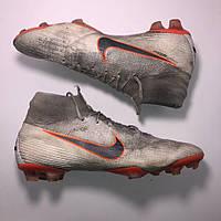42-42.5 розмір Nike Mercurial Superfly 6 Elite FG професійні футбольні бутси  adidas залки бампи 901298306b482
