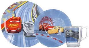 Детский набор посуды Luminarc Disney Cars 3 3пр - N5280
