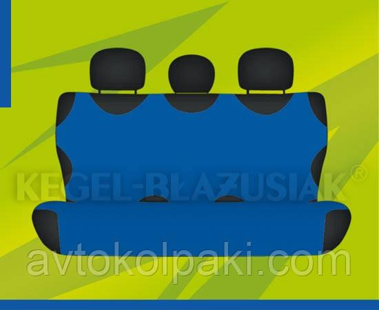 Автомобильные майки KEGEL задние синяя