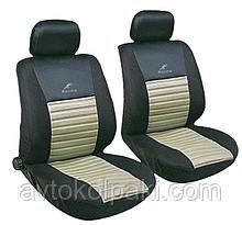Авточехлы универсальные автомобильные  для салона передние Milex Tango бежевый