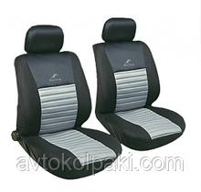 Авточехлы универсальные автомобильные  для салона передние Milex Tango серые