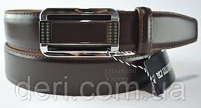 Кожаный ремень  автомат, фото 2