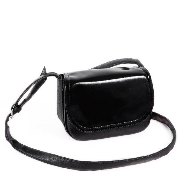 fe73449bae13 Женская сумка кросс-боди из кожзама Камелия М55-47/лак, цена 305 грн ...