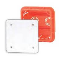 Коробка распределительная внутр.76x76x52 Elektro-plast Pp/t 1 оранжевая IP40