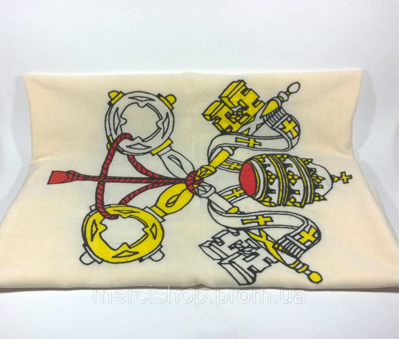 Флаг Ватикана (Вышивка) - (1м*1.5м)