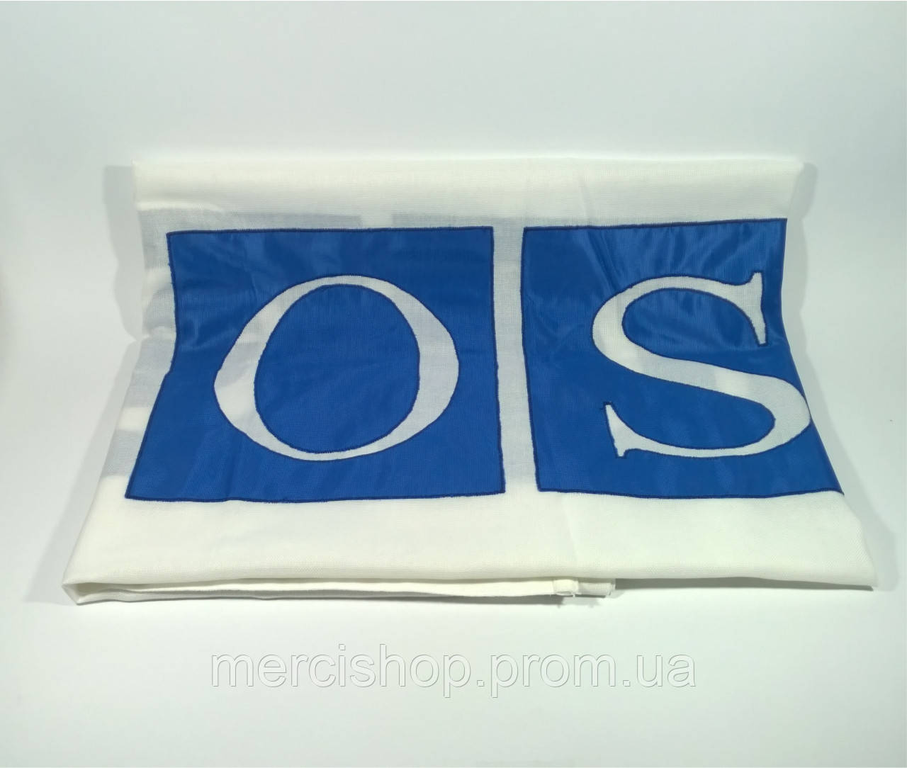 Флаг ОБСЕ (Аппликация) - (1м*1.5м)