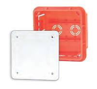 Коробка распределительная внутр.96x96x62 Elektro-plast Pp/t 3 оранжевая IP40