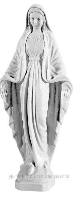 Скульптура на памятник з граніту Божої Матері Kosmolux 005/28,5