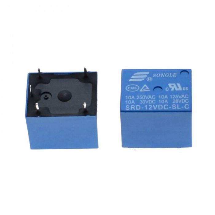 Реле SRD-12VDC-SL-C 12DC / нагрузка 10А при 250В