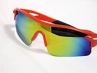 Очки солнцезащитные спортивные красные