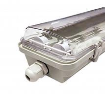 Світильник під LED лампу 2х600 мм IP65