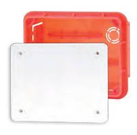 Коробка распределительная внутр.126x96x62 Elektro-plast Pp/t 4 оранжевая IP40