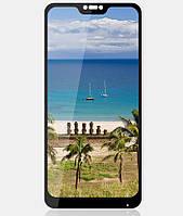 Захисне скло 3D 9H для телефону Xiaomi MI A2 Lite, Захисне скло ксиоми