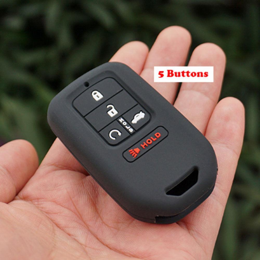 Силиконовый чехол для ключа Honda Accord,Civic,Civic Type R,Crosstour, CR-V,Fit,FR-V,HR-V,jazz,Pilot