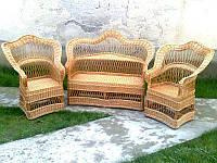 """Комплект мебели из лозы """"Капелька до низу №23"""""""