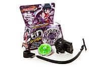 Beyblade бейблейд 6D System волчек с пусковым устройством (Фиолетовая коробка), фото 1