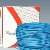 Nexans MILLICABLE FLEX 15 600, 40,8м. Тонкий кабель без стяжки. Nexans Норвегия. 4,1-5,7м2, фото 1