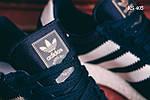 Мужские кроссовки Adidas Iniki Runner (синие) KS 405, фото 5
