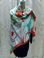 Платок шаль бренд Lux копия шерсть цветной