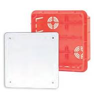 Коробка распределительная внутр.126x126x70 Elektro-plast Pp/t 5 оранжевая IP40