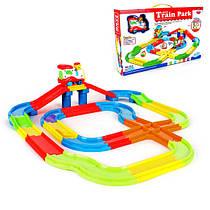 Детская железная дорога Train Park 378 см.