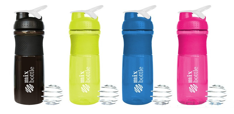 Шейкер Sports Bottle Shaker Mix Bottle (760 мл.) (4 цвета)