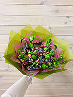 """Букет из конфет и батончиков """"Snickers"""""""