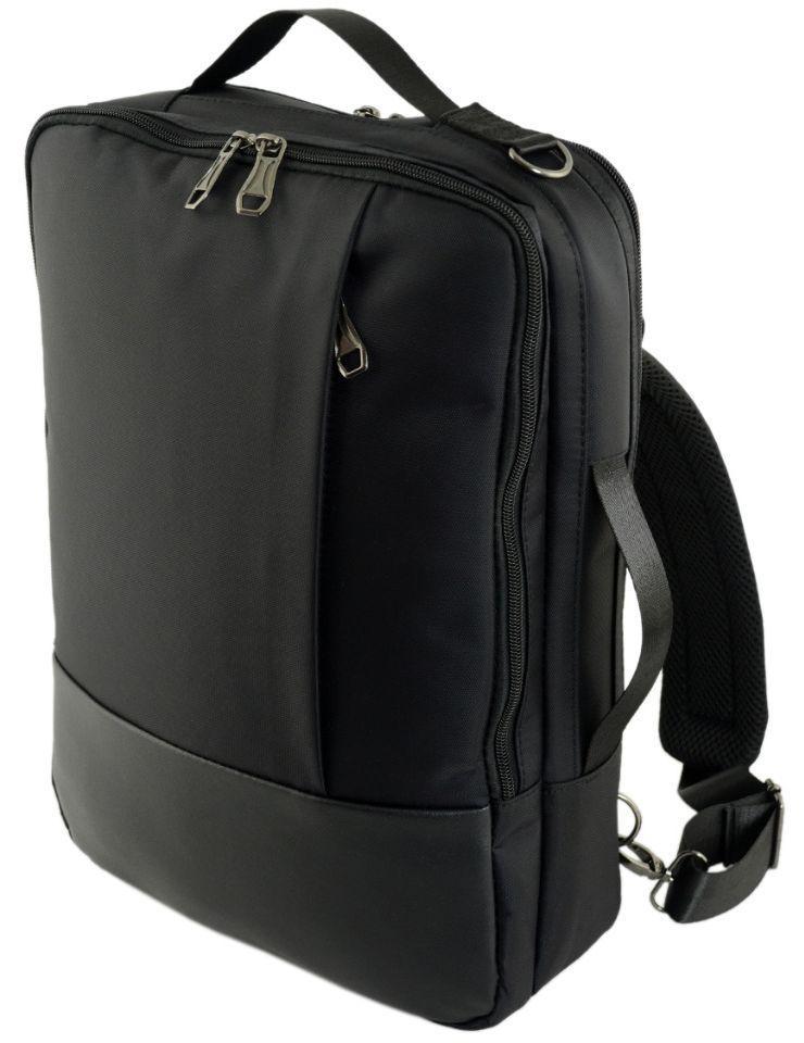 56d52f104149 Городской рюкзак-портфель TRAUM 7176-10 7 л, черный — только ...