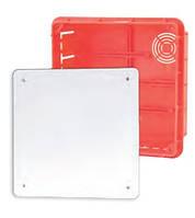 Коробка распределительная внутр.156x156x70 Elektro-plast Pp/t 7 оранжевая IP40